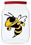 the bottled wasp logo